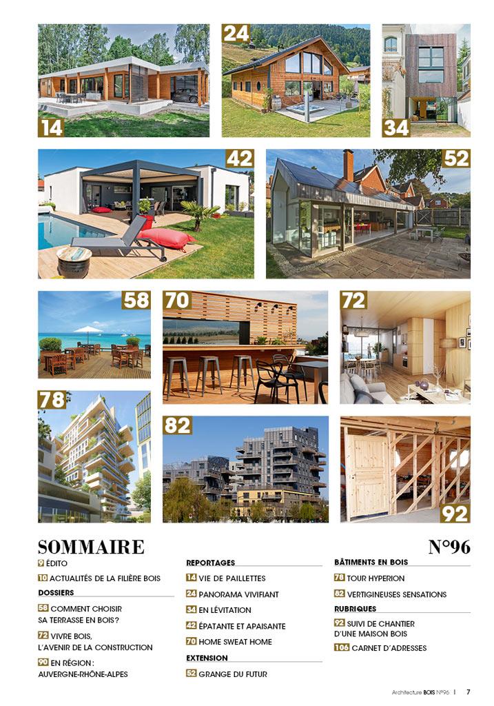 Numéro 96 d'Architecture Bois
