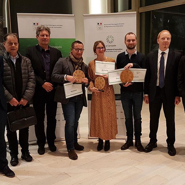 Concours La Canopée, la filière bois récompensée