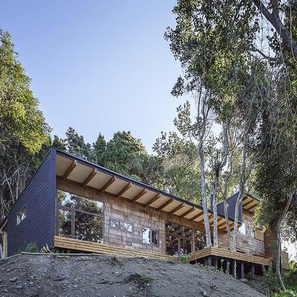 Maison de vacances en bois Chili - Juan Pablo Labbé
