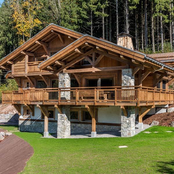 chalet bois authentique dans les Vosges