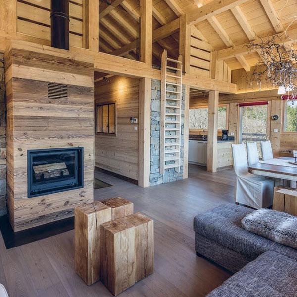 maison bois à La Bresse
