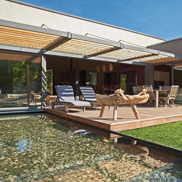 Maison de plain-pied en ossature bois - Philippe Zerbib