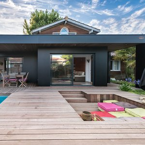 maison bois ultra design