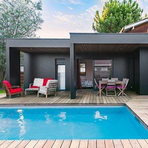 maison bois ultra design en Gironde