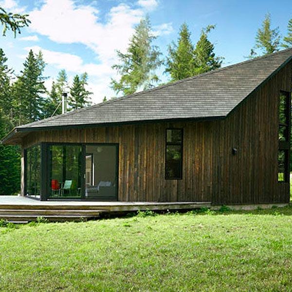 extension bois moderne