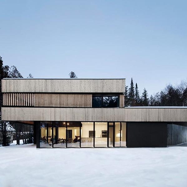 Maison bois sur les rives du lac - ACDF Architecture