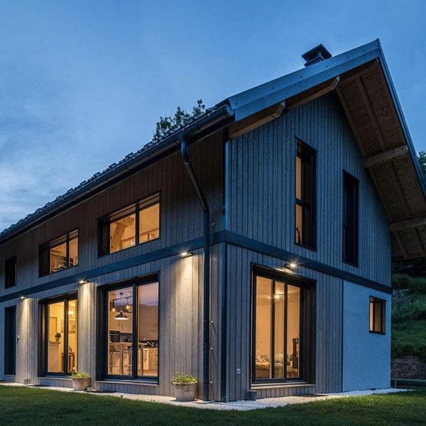 maison bois de caractère