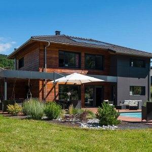 Maison en bois moderne - SCMC