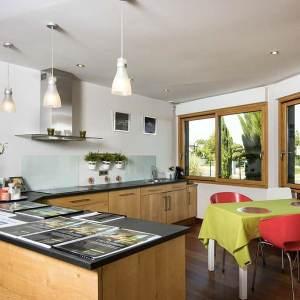 Maison bois polygonale - La Maison de cèdre
