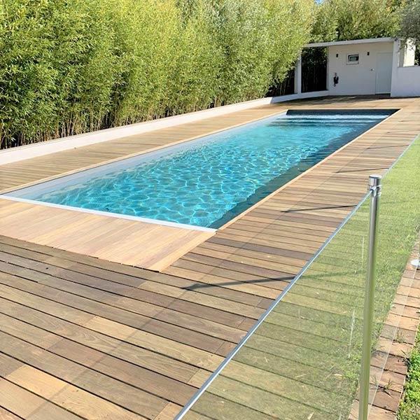 Terrasses et bardages en bois avec piscine bois