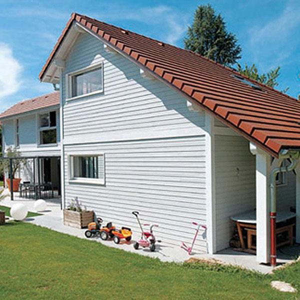 Maison à ossature bois contemporaine - SCMC
