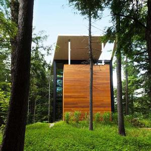 Maison en bois verticale - Yh2