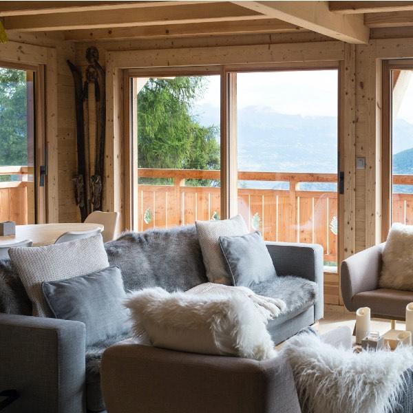 séjour confortable dans maison bois