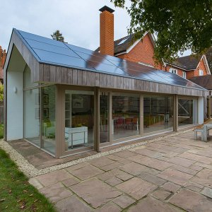 Extension en ossature mixte - Lees Munday Architects