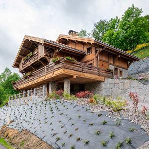 maison de bois et de pierre en Hautes-Vosges