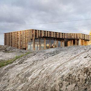 ossature bois lamellé-collé - Atelier Oslo Architects