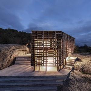 maison de type d'ossature bois lamellé-collé en Norvège