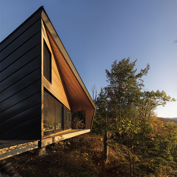 Maison de vacances en ossature bois - I-Kanda Architects