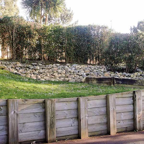 classe d'emploi 4 - usage bois au contact du sol ou de l'eau douce