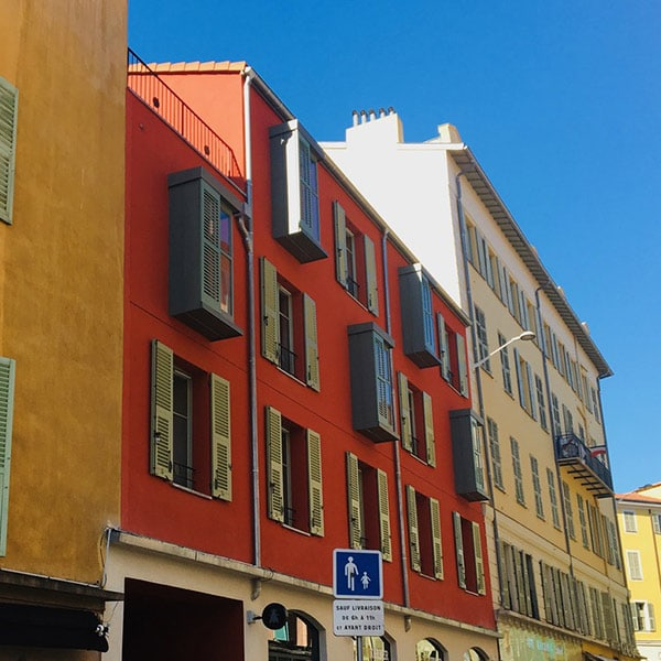 Bâtiment éco-responsable en ossature bois à Nice
