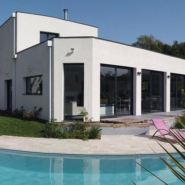 maison ossature bois Épicéa à Gironde - Alaya Maisons Bois