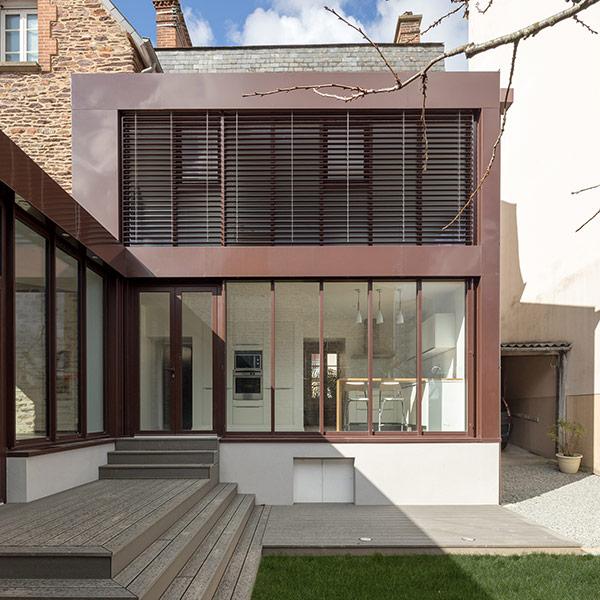 maison bourgeoise extension dans Ille-et-Vilaine- atelier dupriez