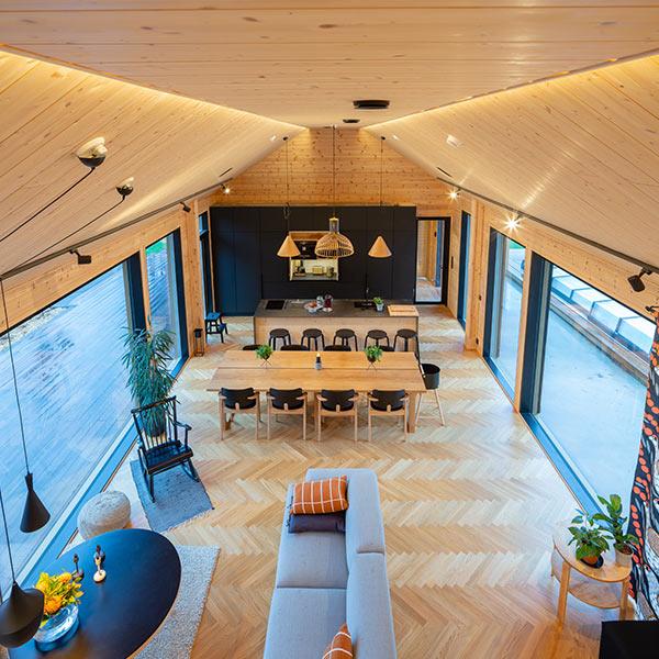 maison en bois massif - kontio