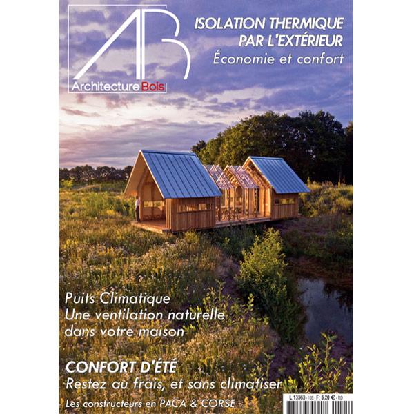 magazine Architecture bois aout 2021