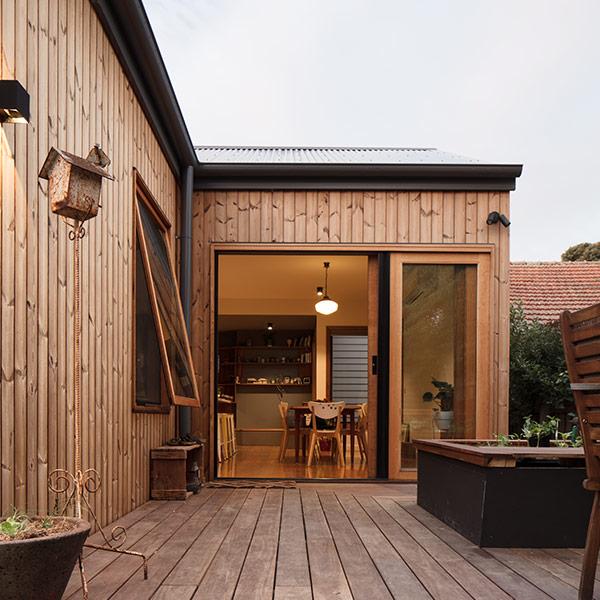 extension en structure bois - Inbetween Architecture