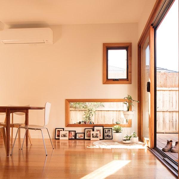 design d'intérieur dans maison bois