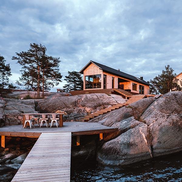 maison bois haut de gamme en Finnlande- kontio