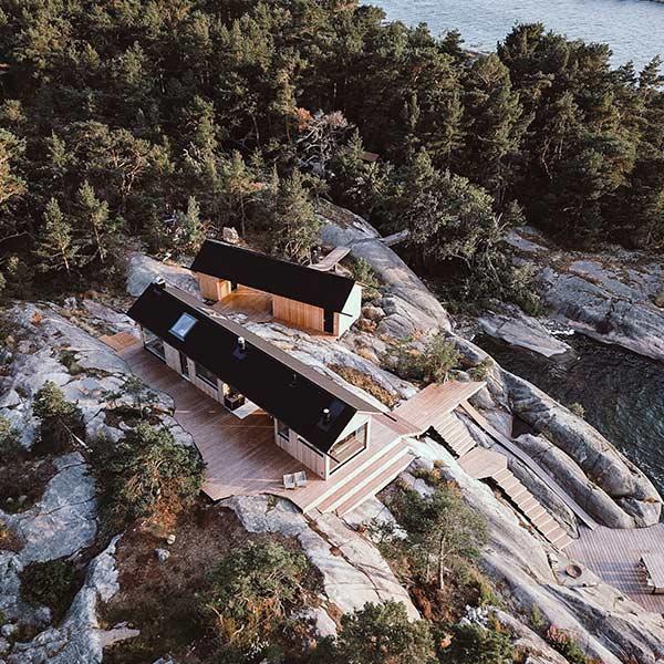 maison bois haut de gamme en Finnlande - kontio