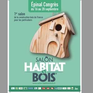 Salon Habitat et Bois 2021 à Épinal