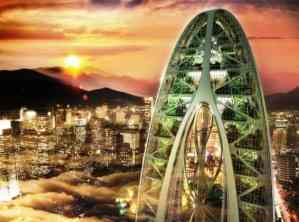 Bionic-Arch by Callebaut233 Architects