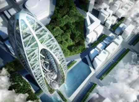 Bionic-Arch by Callebaut241 Architects