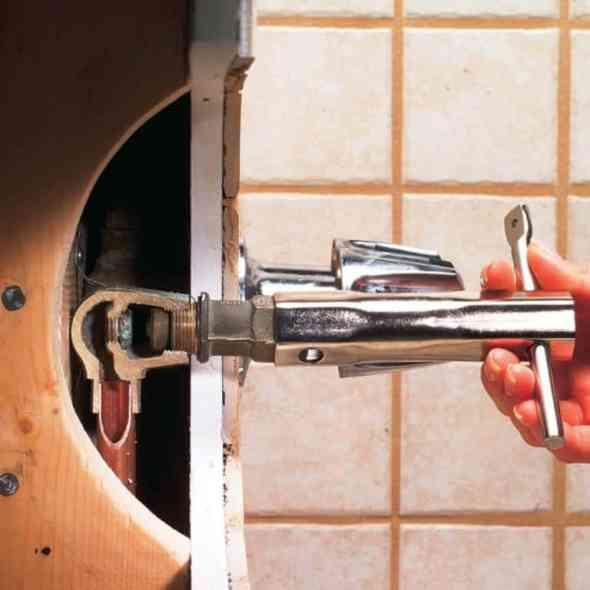 DIY Bathtub Faucet Repair