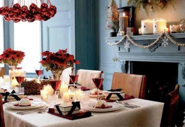 Dining Room Christmas Decor_979Ideas