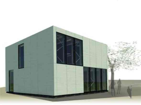 E-Cube By Team Belgium242 Architecture