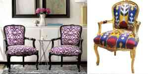 Exotic Ikat Pattern in Interior Design180Ideas