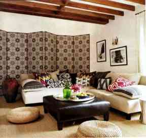 Exotic Ikat Pattern in Interior Design184Ideas