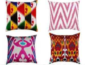Exotic Ikat Pattern in Interior Design186Ideas