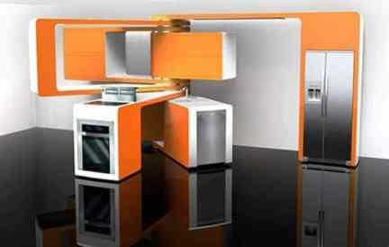 Hi-tech Kitchen_a22Designs