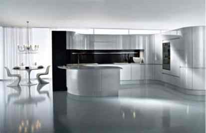 Hi-tech Kitchen_a45Designs