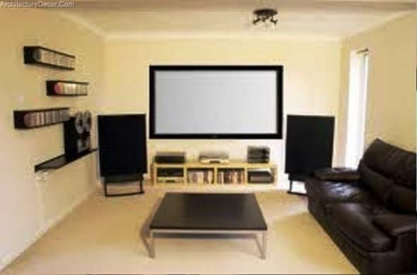 living room theater decorating ideas wall colours architecture