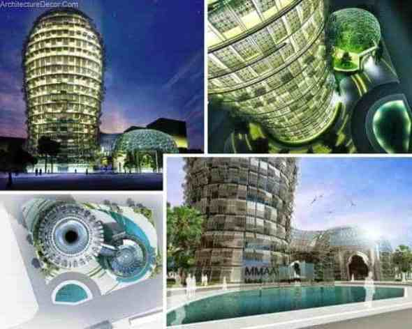 The Cactus Project-Sustainable Office Buildings