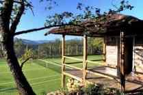 Luxury Italian Villa-home tennis court