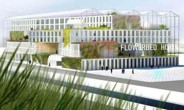 MVRDV: Flower Bed Hotel