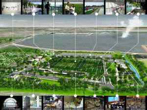 Master Plan-Mud Volcano Research Center at Sidoarjo_a470_3D Architectures