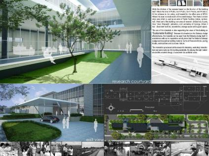 Master Plan-Mud Volcano Research Center at Sidoarjo_a473_3D Architectures