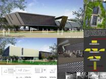 Master Plan-Mud Volcano Research Center at Sidoarjo_a477_3D Architectures
